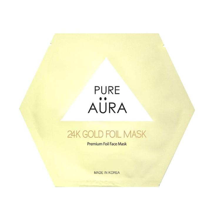 Pure Aura 24K Gold Foil Mask