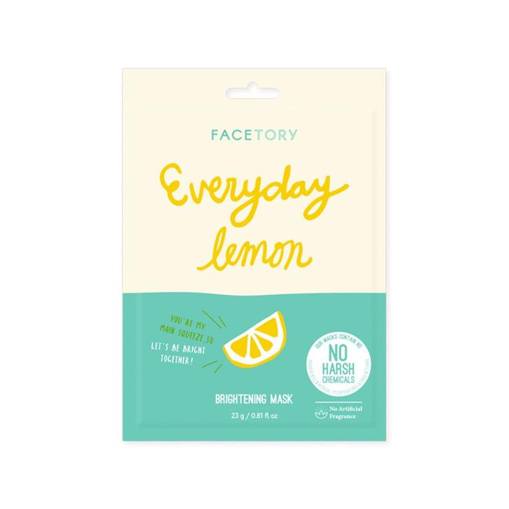 FaceTory Everyday Lemon Brightening Mask