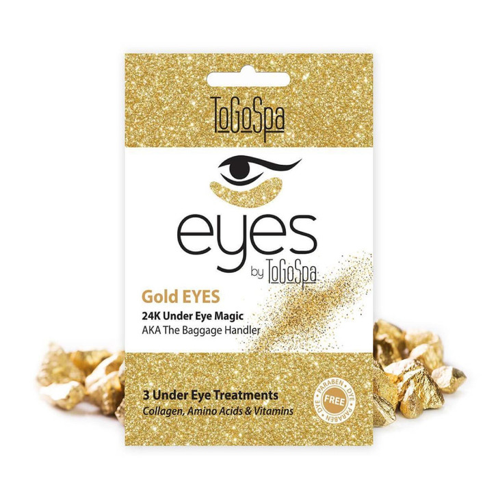 To Go Spa Gold Eyes: AKA The Baggage Handler