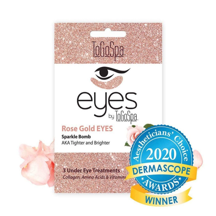 To Go Spa Rose Gold Eyes: AKA Tighter & Brighter