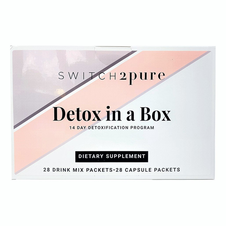 Switch2Pure 14-day Detox in a Box (twice daily packets)