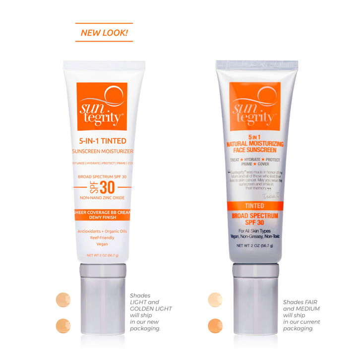 Suntegrity 5 in 1 Tinted Moisturizer Face Sunscreen