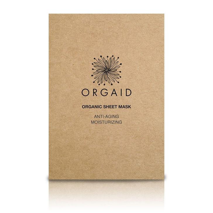 Orgaid Antiaging & Moisturizing Single Sheet Masks
