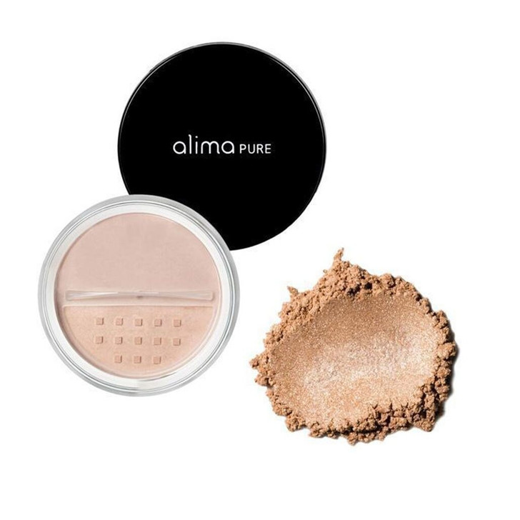 Alima Pure Mineral Highlighter Rose gold