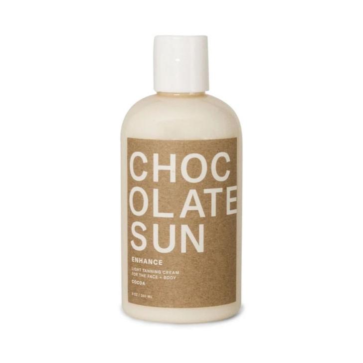 Chocolate Sun Tanning Cream ENHANCE