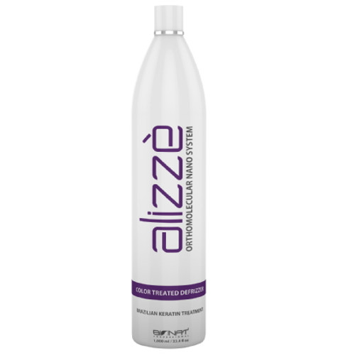 ALIZZÈ BLOND - BRAZILIAN KERATIN HAIR STRAIGHTENING TREATMENT YELLOW TINGE REMOVER (1000ml 33.8 fl. oz.)