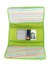 Cotton and Natural Fiber Trifold Wallet