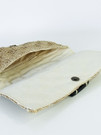 Clutch Envelope With Adornment Tan