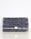 Clutch Envelope With Adornment Navy