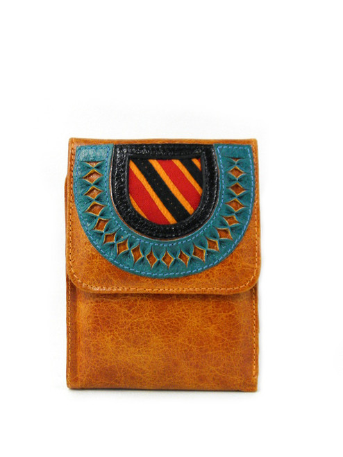 TRIFOLD KUNA LEATHER WALLET