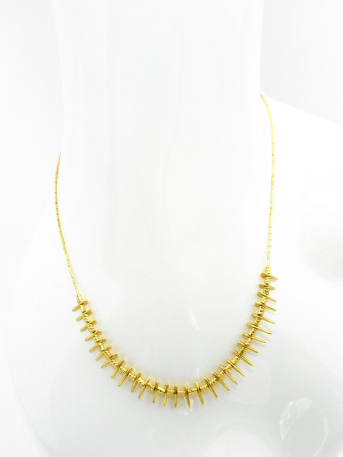 GOLDEN SMALL CHARM NECKLACE