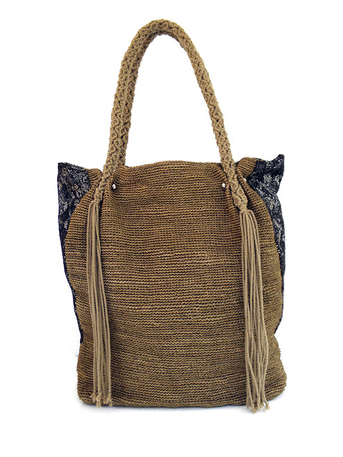 FIQUE CROCHETED ULTIMATE TOTE