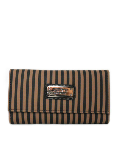 LARGE TRIFOLD CANVAS WALLET