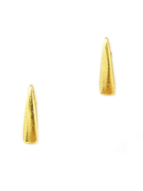SPIKE OF GOLD MINI STUDS