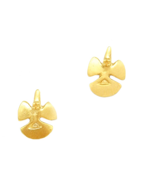 GOLDEN BIRD STUDS