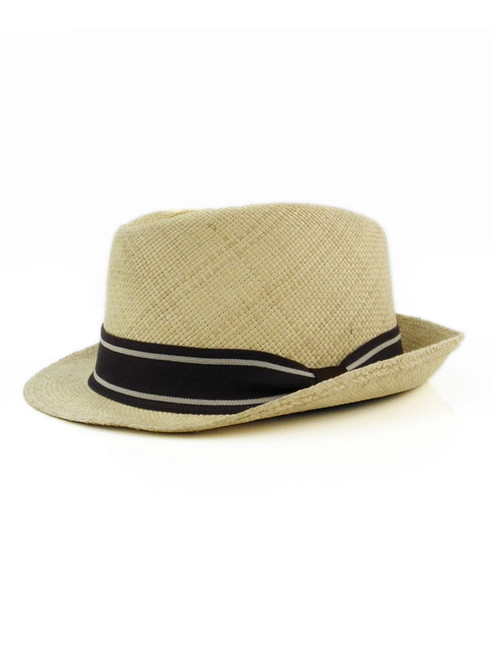 ELEGANT NATURAL FEDORA