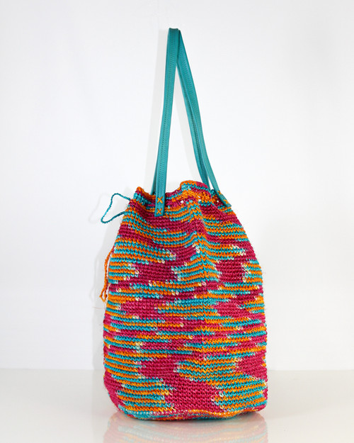 Vacation Tote Stripe Sherry Mix