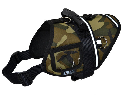Activ Dog Harness - Woodland Camo - Small