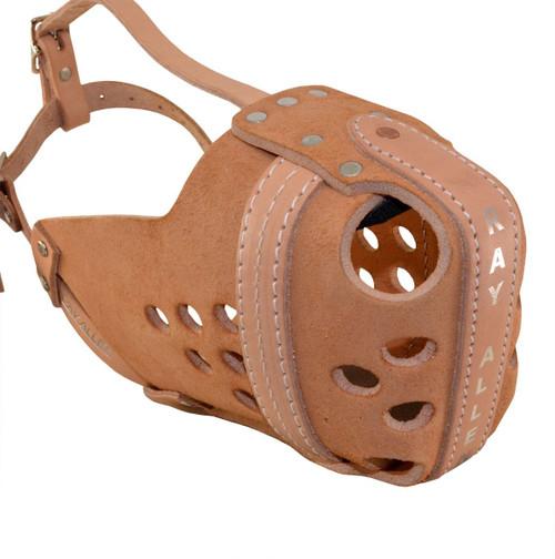 Original RAM Leather Agitation Muzzle