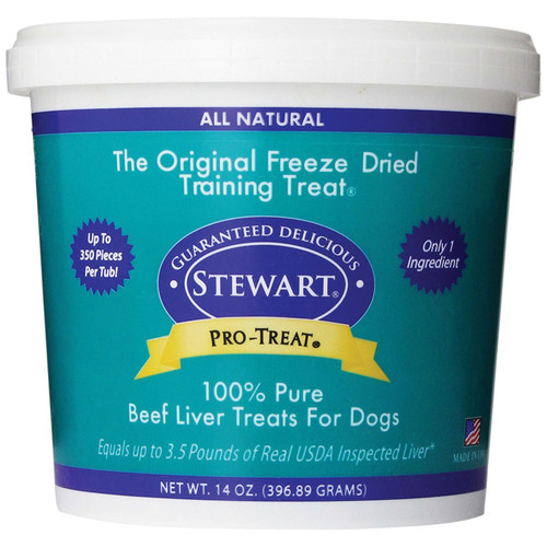 Stewart Pro-Treat Freeze Dried Liver Training Treats