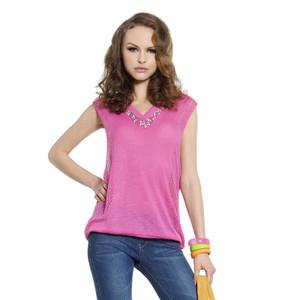 [Sample]  Pink T-shirt