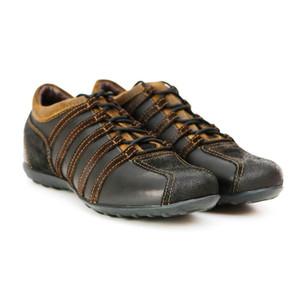 [Sample] Dark Brown Running Shoes