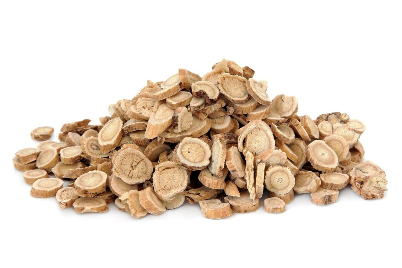 RAW Forest Foods Astragalus Extract Powder — Fortified with Astragaloside IV