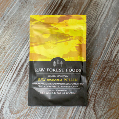 RAW Forest Foods RAW Brassica Flower Pollen — Ecologically Crafted