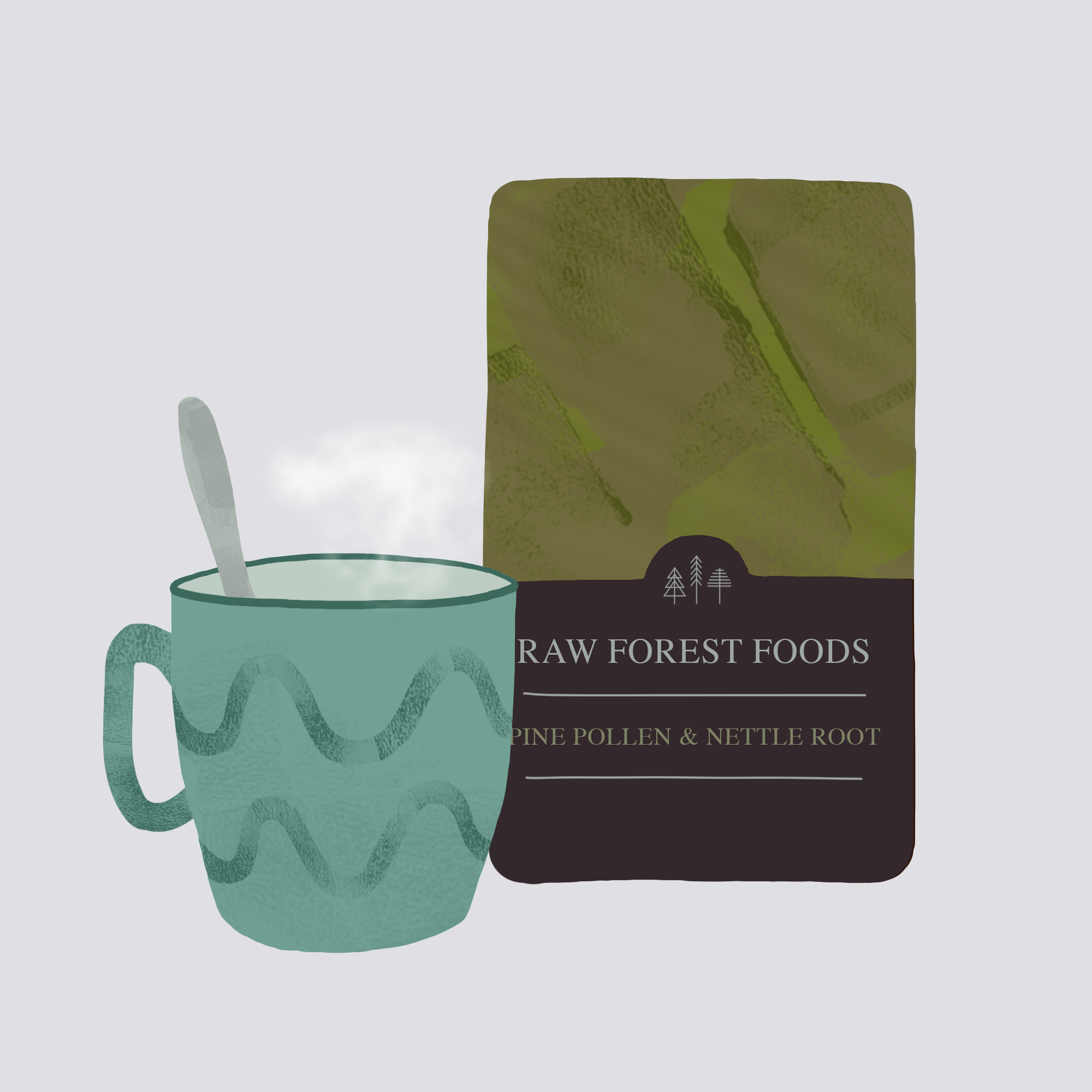 RAW Forest Foods Taking Powder Extracts