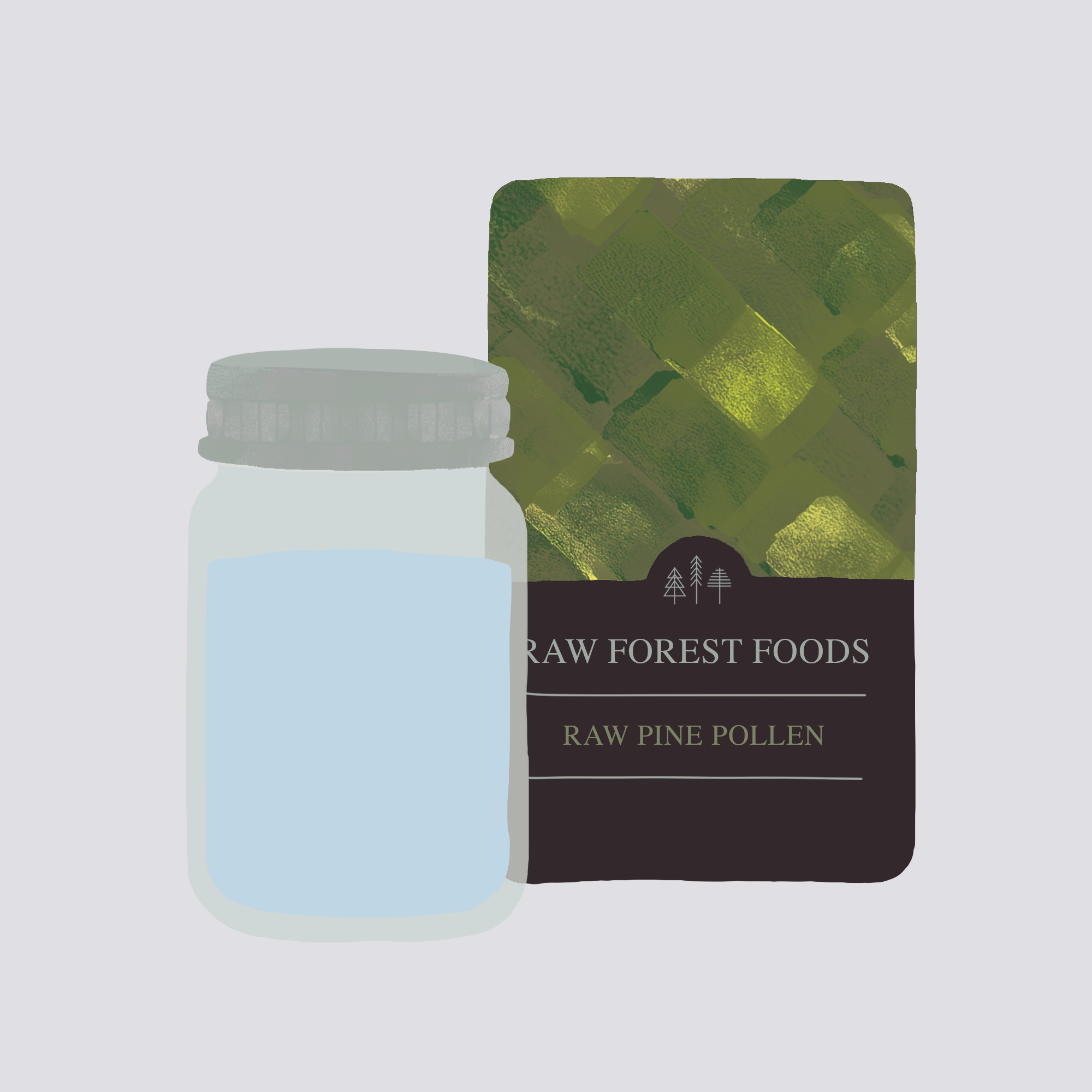 RAW Forest Foods Taking RAW Pollens