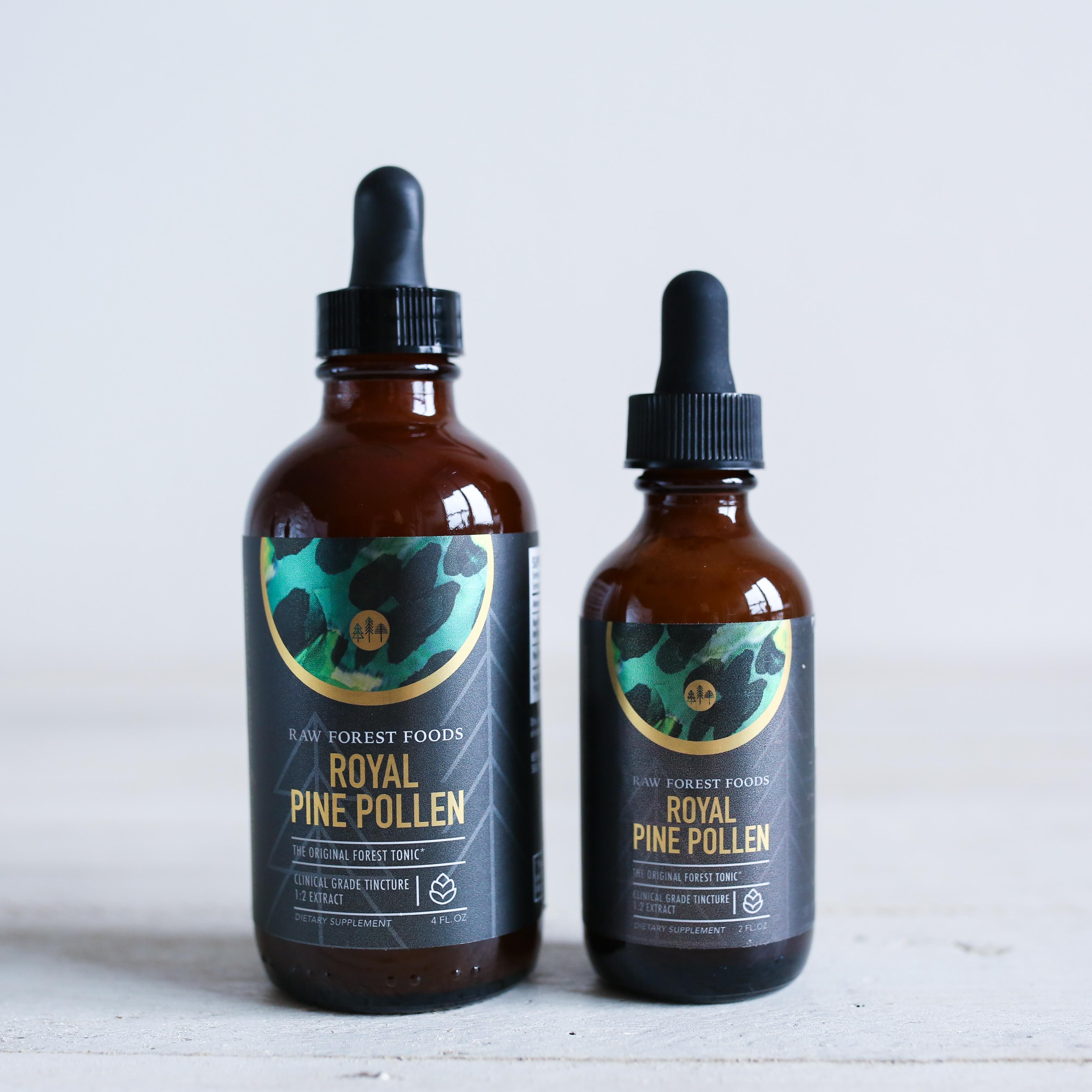 Royal Pine Pollen Tincture (2 Ounce)