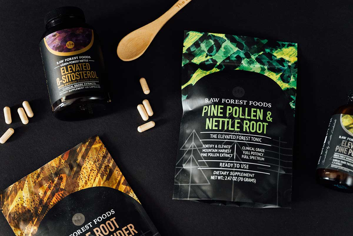 Pine Pollen and Nettle Root Extract Powder