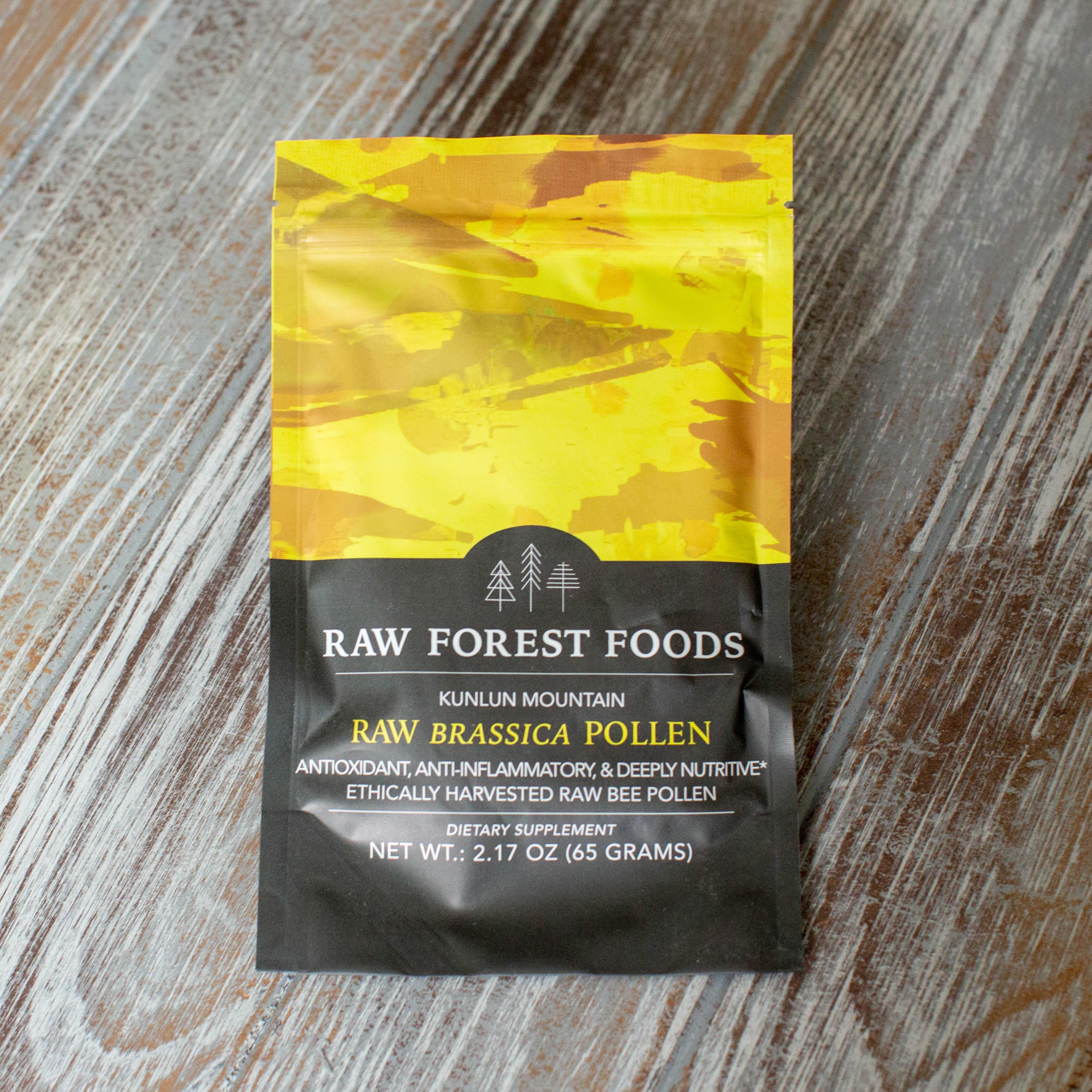 RAW Brassica Pollen