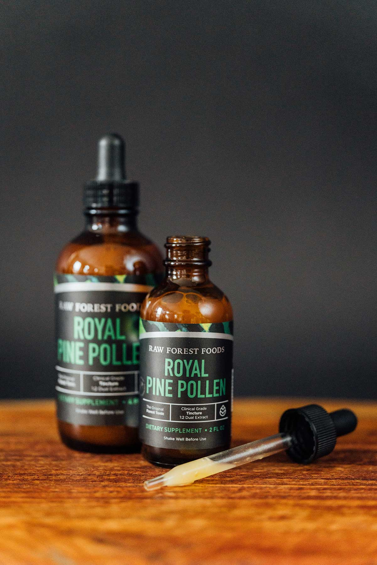 Pine Pollen Tincture — Royal Pine Pollen — 4 Ounces