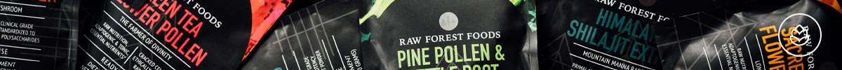 View All Products at RAW Forest Foods