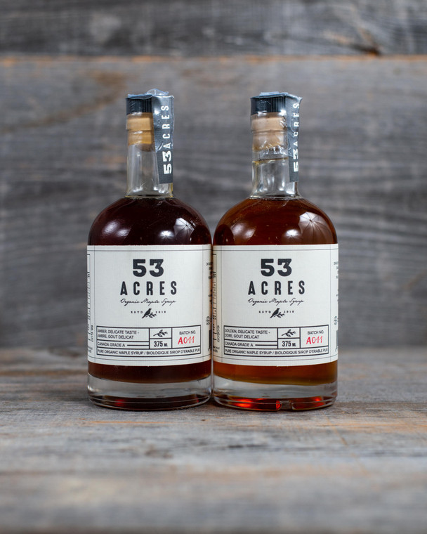 53 Acres Organic Maple Syrup