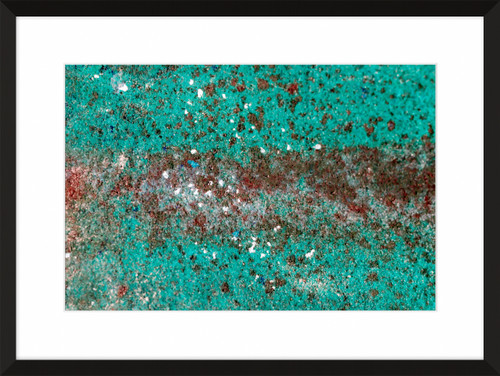 Patina and Decay, Turquoise IV