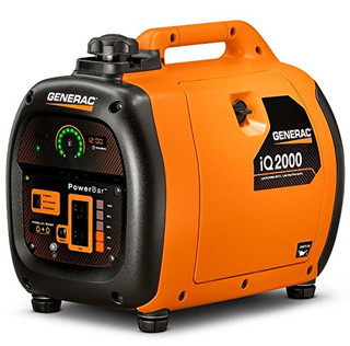 Generac 6866 iQ2000, 1600 Running Watts, Quiet Portable Inverter Generator