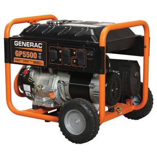 Generac 5939, 5500 Running Watts/6875 Starting Watts, Gas Portable Generator