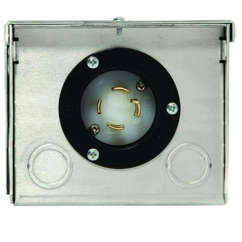 Generac Generac 6343 30-Amp 125/250V Raintight Aluminum Power Inlet Box