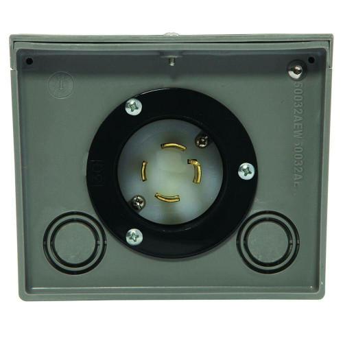 Generac Generac 6337 30-Amp 125/250V Raintight Power Inlet Box