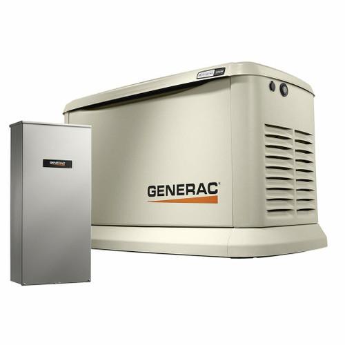 Generac Generac 22kW Air-Cooled Standby Generator, Aluminum Enclosure, 200 SE not CUL