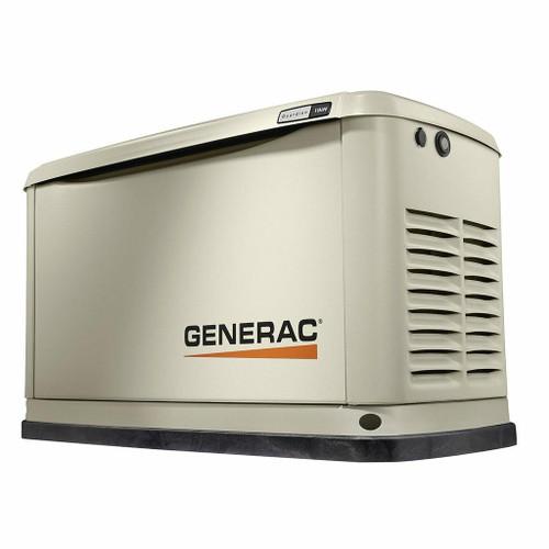 Generac Generac 7031 11kW Air-Cooled Standby Generator, Aluminum Enclosure unit only