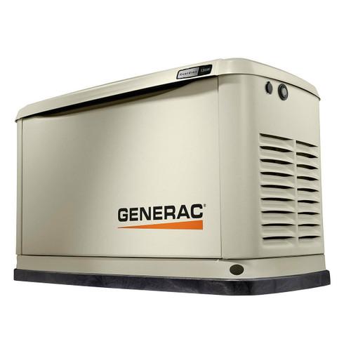 Generac Generac 10 kW Air-Cooled Standby Generator, Aluminum Enclosure