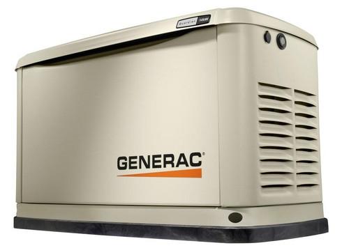 Generac Generac 14 kW Air-Cooled Standby Generator, Aluminum Enclosure - Unit Only