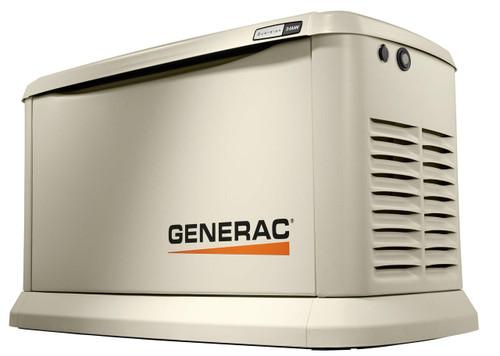 Generac Generac Guardian Model 7209 24kW Air Cooled Standby Generator, Aluminum Enclosure