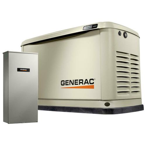 Generac Generac Guardian Model 7172 10kW Air Cooled Standby Generator, Aluminum Enclosure, 16c 100 Amp T/SW AL NEMA 3R