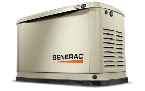 Generac Guardian Model 7176 16 kW Air Cooled Standby Generator, Aluminum Enclosure