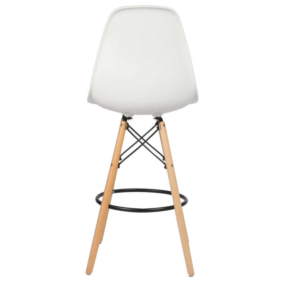Swell Ethan Mid Century Modern Counter Stool 26 White Squirreltailoven Fun Painted Chair Ideas Images Squirreltailovenorg