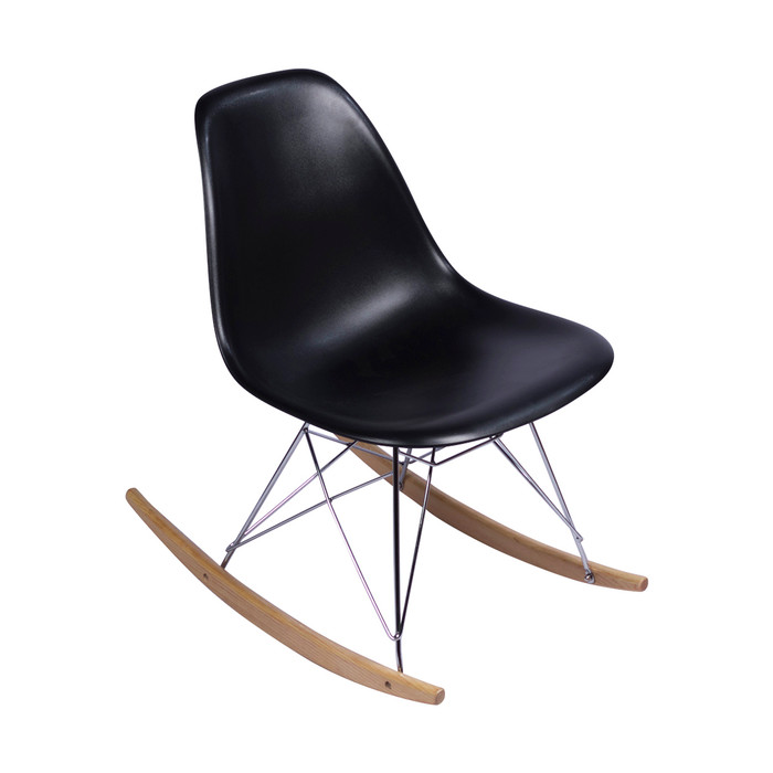 Clear Acrylic Eames Rocking Chair Replica Austin